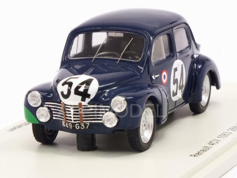 Renault 4CV 1063 Le Mans 1951 Lecat - Senfftleben 1 43 SPARK S5211