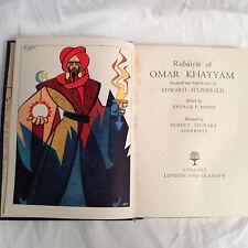 R S Sherriffs - Rubaiyat Of Omar Khayyam - 12 Plates - 1952 - Full Limp Leather
