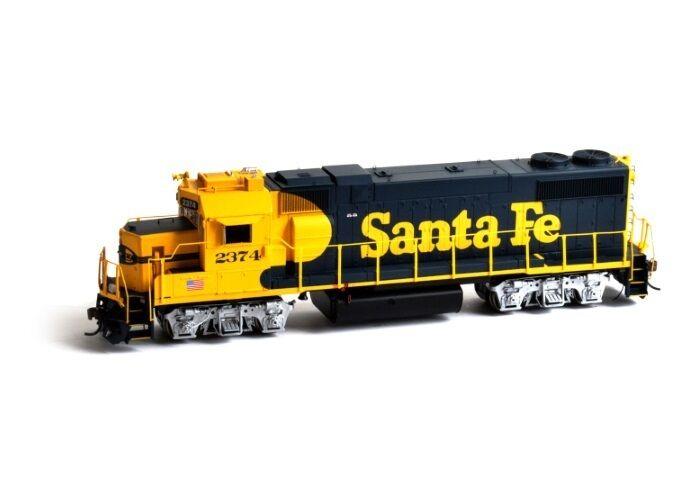 Athearn ATHG65444 HO Scale GP38-2 SF 2379 Locomotive w DCC & Sound