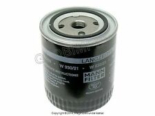 AUDI A4 A6 VW Passat (1995-2005) Oil Filter (1) MANN OEM