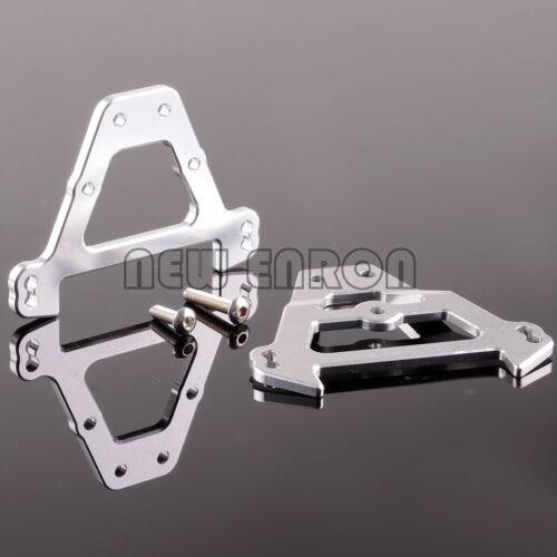 1//10 Aluminum Front /& Rear Bulkhead For RC Car 1:10 TRAXXAS REVO 2.5 3.3