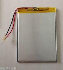 """2 wire Polymer Li-ion battery 3.7V for 7"""" DigiLand DL701Q DL700D tablet 3000mah"""
