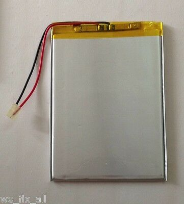 Polymer Li-ion Lipo battery 3.7V 6000mAh for RCA Pro 10 RCT6103W46 Table 3597151