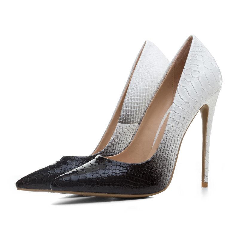 Damen Schuhe Pumps High Heels Stiletto Nachtclub Spitz Party Hochzeit Nachtclub Stiletto Gr.33-43 790009