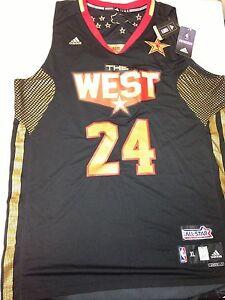 Rare Kobe Bryant Authentic Limited Edition NBA AllStar Swingman ...
