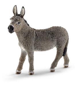 Schleich 13772 Donkey Model Burro Toy Figurine Nativity Animal - NIP