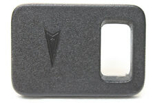 00-02 Firebird Trans Am Tranction Control TCS Switch Panel Ebony *HT10411283