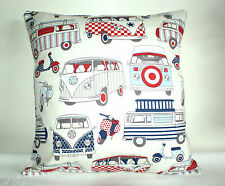 """BRAND NEW  VW CAMPER VAN/SCOOTERS  CUSHION COVER 16""""x16"""""""