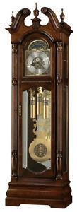 Howard-Miller-611-142-Edinburg-Traditional-Cherry-Grandfather-Clock-611142