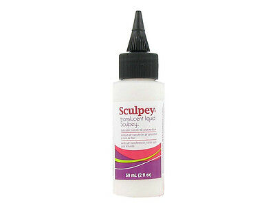 M00384 MOREZMORE Polyform Sculpey Translucent Liquid Polymer Clay TLS 2 oz