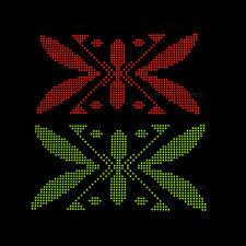 10pcs 8x8 Dot-Matrix 3mm Red and Green dia. Bicolor LED Display