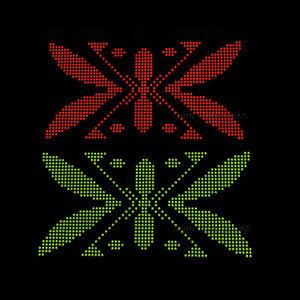 10pcs-8x8-Dot-Matrix-3mm-Red-and-Green-dia-Bicolor-LED-Display