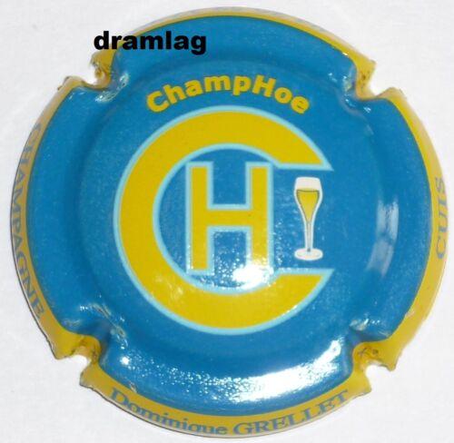 Capsule de Champagne n°28 cuvée ChampHoe GRELLET Dominique