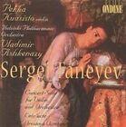 Sergei Taneyev: Concert Suite for Violin & Orchestra; Entr'acte; Oresteya Overture (CD, Dec-2000, Ondine)