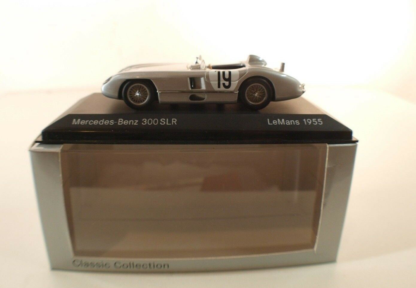 Minichamps Classic Collection Mercedes-Benz 300 SLR le Mans 1955 Nuovo 1/43 MIB