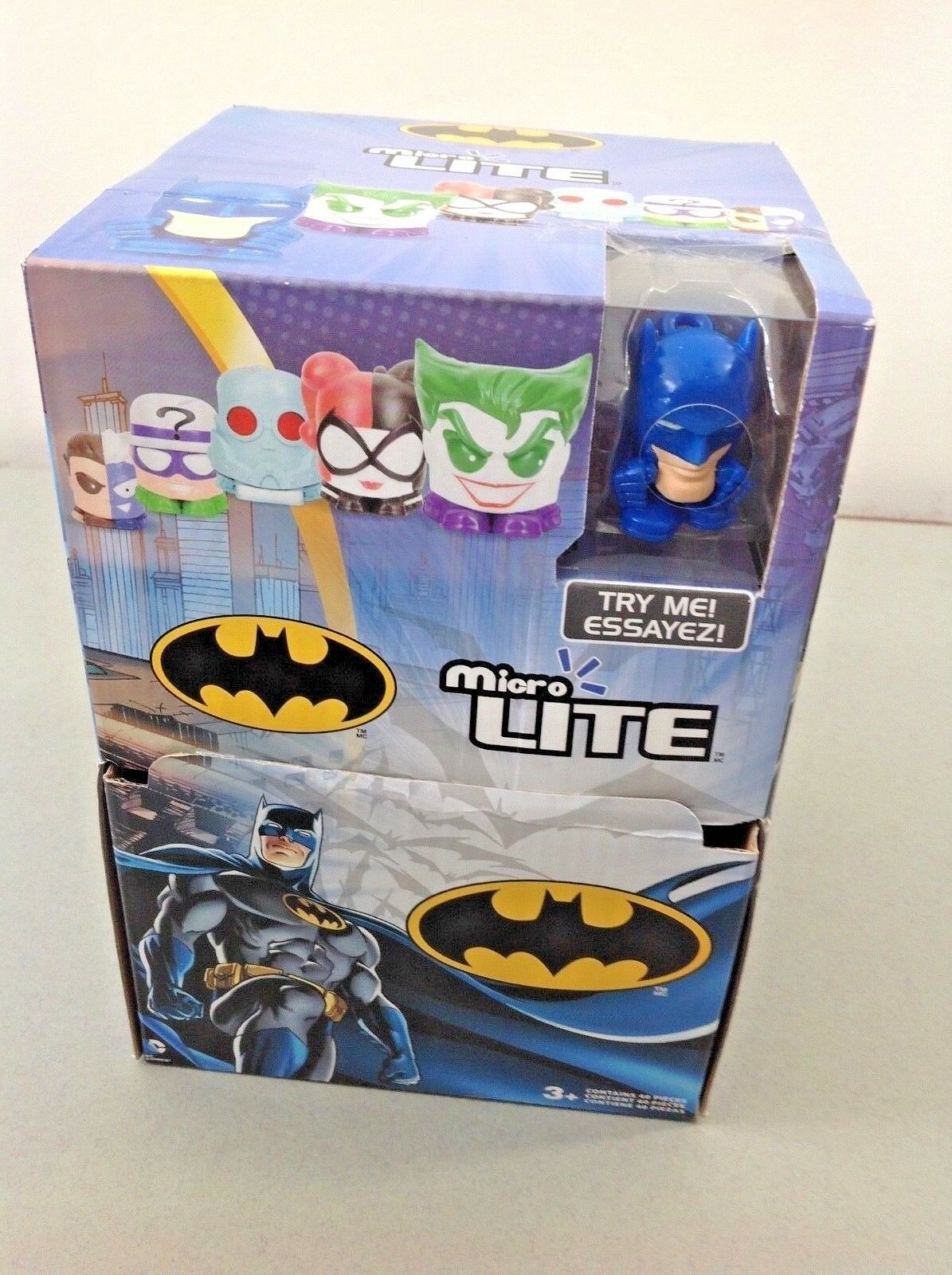 Batman Micro Lites - 37 paquetes de misterio Micro Lites Juguetes Juegos Coleccionable Diversión Bolsa