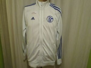FC-Schalke-04-Original-Adidas-Freizeit-Trainingsanzug-Jacke-2011-12-Gr-M