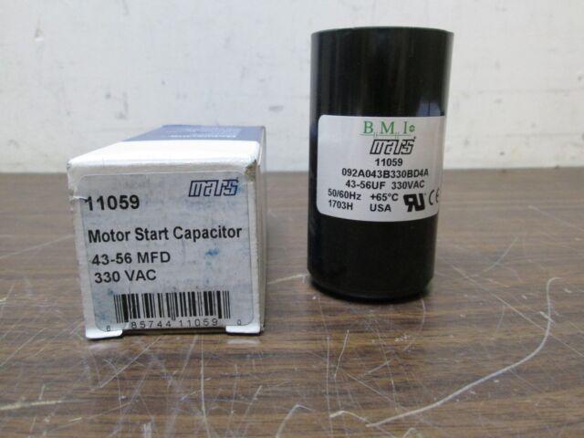 Motor Start Capacitor 25-30 MFD  330 VAC MARS 11056