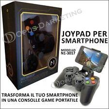 JOYPAD GAMEPAD CONTROLLER JOYSTICK BLUETOOTH per Samsung Galaxy Ace Plus S7500