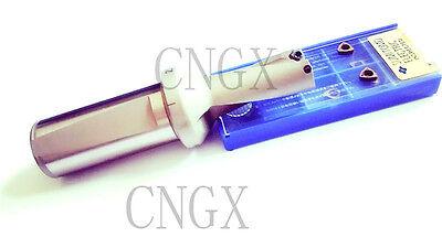 1P C25-3D20  WC03 CNC U drill indexable drill bit For WCMX030208 Insert