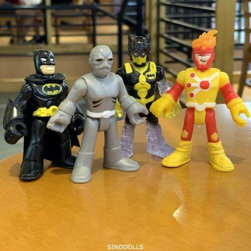 LOT 4 DC Fisher Price Imaginext Power Rangers Putty triple FIRESTORM BAT BJUS