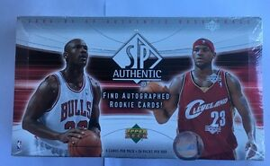 2004-05-Upper-Deck-SP-Authentic-Basketball-NBA-Factory-Sealed-Hobby-Box