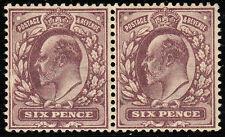 VAR245 6d Pale Dull Purple  fine & fresh U.Mint,Hendon Var broken inner frame.