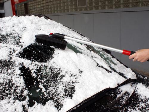 APA KFZ Schneebesen mit Eiskratzer DELUXE Teleskop-Stiel