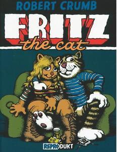 Robert-Crumb-Fritz-the-Cat-Z1-1-Auflage-Reprodukt