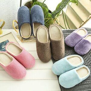 Women-Men-Winter-Warm-Fleece-Anti-Slip-Slippers-Home-Sandals-Indoor-House-Shoes