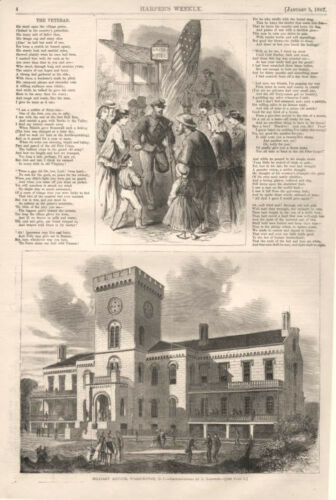 Military Asylum for Disabled Volunteers at Washington, D. C. - 1867
