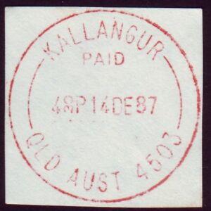 QUEENSLAND-POSTMARK-034-KALLANGUR-PAID-034-CDS-IN-RED