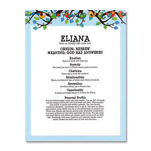 Name meaning print personalised baby girl birthday christening image is loading name meaning print personalised baby girl birthday christening negle Image collections