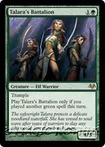 TALARA-039-S-BATTALION-Eventide-MTG-Green-Creature-A-Elf-Warrior-RARE