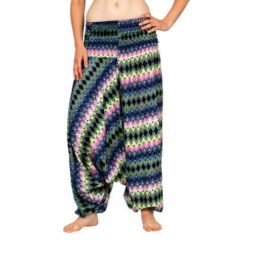 "Sarouel /""Magic/"" Harem Pantalon Aladinhose Shalwar Sarouel Pantalon Bouffant Femmes Femmes"