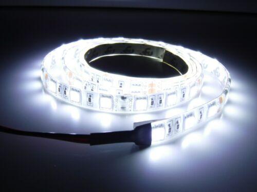 "Boat Marine RV Auto White  LED Flexible 3M Stick On Strip Light 72/"""