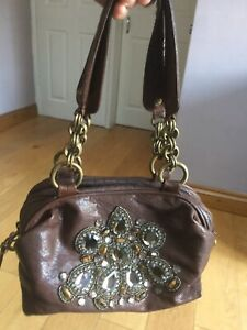 Brown Held River Island Buffalo Leather Small Bag lF1cTJK