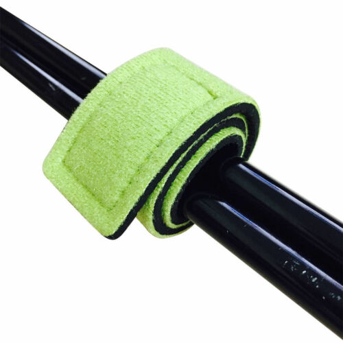 Fishing Rod Tie Strap Belt Tackle Elastic Wrap Band Pole Holder Accessories New