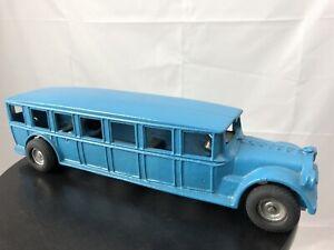 Arcade-Cast-Iron-Blue-Fageol-Safety-Coach-BUS-12-034-Long