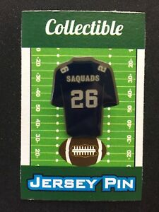 official photos 3a1d5 98588 New York Giants Saquon Barkley jersey lapel pin-#1 ...