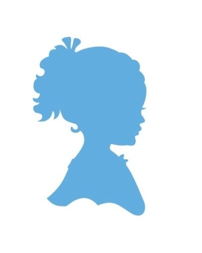 Marianne Design Creatable Silhouette girl with ponytail 394349