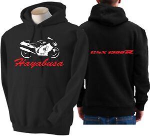 Suzuki Hayabusa Logo Hoody Hoodie Hooded Top