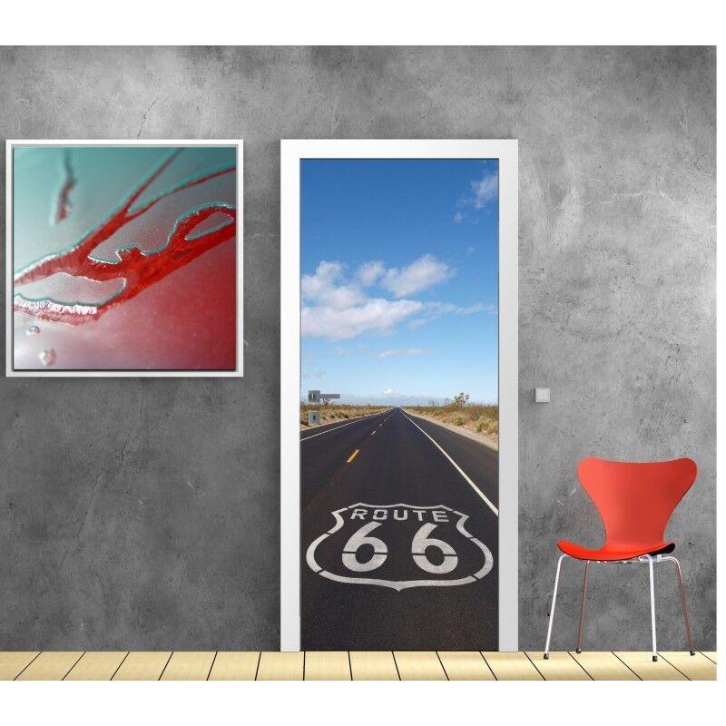 Poster Poster Porta Decocrazione Route 66 801 Art Déco Adesivi