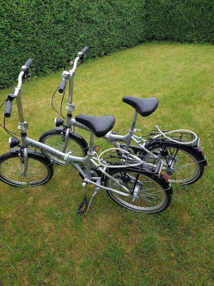 Star foldecykel city Køb Tern