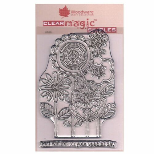 Woodware Craft Collection Clear Magic Stamps by Jane Gill CHOOSE Various Designs