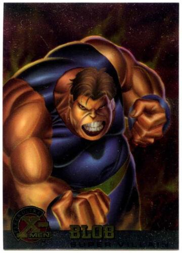 C291 Blob #61 Fleer Ultra X-Men Chrome Trade Card