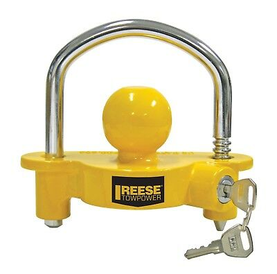 Extra Security for Your Trailer Trailer Lock for 2 Coupler fits Standard Tow Ball Coupling sockets on The Trailer Expands and Locks in Place Prevents The Trailer Being Hitched to a Tow Ball