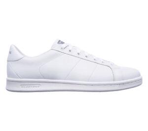 Herrenschuhe Verantwortlich Skechers Omne Herren Freizeit Athletic Weiß Schuhe Sneaker Leder 52345 Weiß