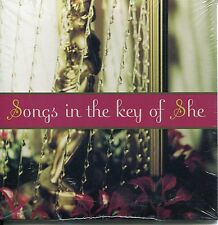 VA - Songs In The Key Of She ( promo cd with kd Lang, Enya)