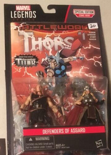 "MARVEL LEGENDS UNIVERSE 3.75/"" Comic 2-Pack Thors Jane Foster Thor figure"